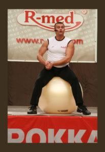 Antal Miklós Fit-Ball oktató